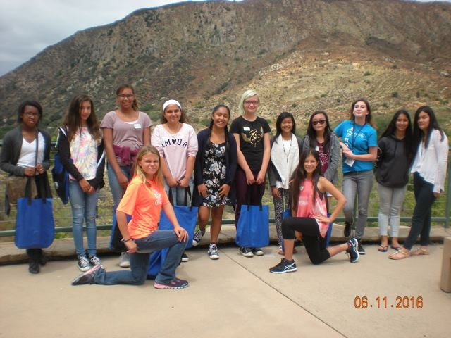 AAUW La Mesa- El Cajon Branch Tech Trek Girls 2016